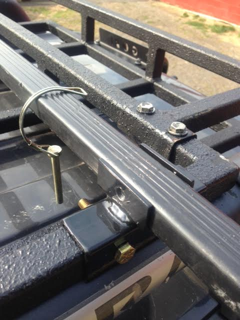 Dephep Roof Rack Cross Bar Mounts