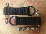 Raingler D-Ring Straps W/ Hardware