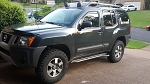 P&P Xterra (2005+) Rock Sliders, Level III