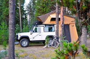 Mt. Shasta Roof Top Tent With Annex