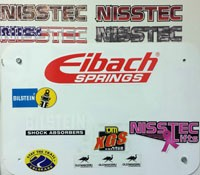 Nisstec Sticker Pack