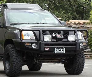 Nissan Frontier Bumper >> Arb Front Winch Bumper Fits 05 15 Xterra